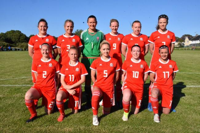 Ynys Mon women reached the Inter-Island Games tournament final