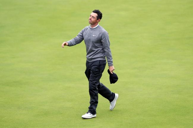 Rory McIlroy's Open Championship came to an end, despite a valiant second-round fightback
