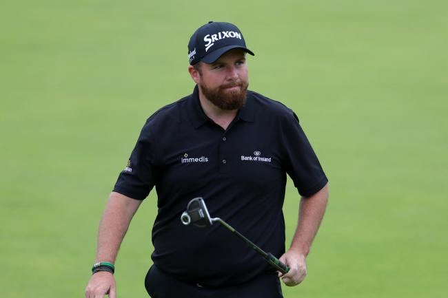 Shane Lowry sits as joint leader after two rounds at The Open