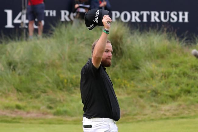 Shane Lowry, pictured, tops the standings heading into the final day at The Open