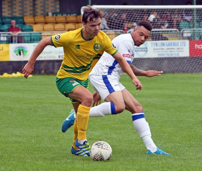 Caernarfon Tow picked up two points from their two weekend fixtures
