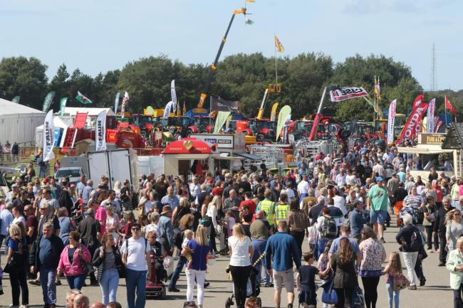 Crowds enjoying the Anglesey show. Picture: Kerry Roberts 2019 KR130819a
