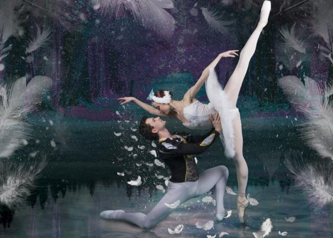 Witness the timeless grace of Swan Lake in Rhyl this October