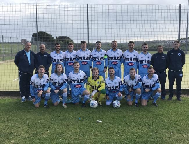 Holyhead Town will take on Holyhead Hotspur in the JD Welsh Cup