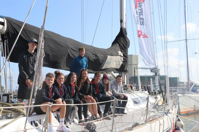 Nine members of Wales YFC have embarked on a sailing trip of a lifetime with Challenge Wales through the Wales YFC international programme