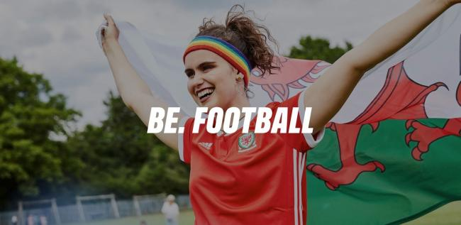 'BE. Football' aims to challenge perceptions, inspire and give confidence so that women and girls across the game can BE their best self