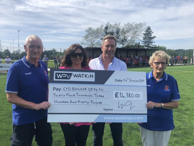 Bangor 1876 have secured a sponsorship deal with Watkin Property Ventures