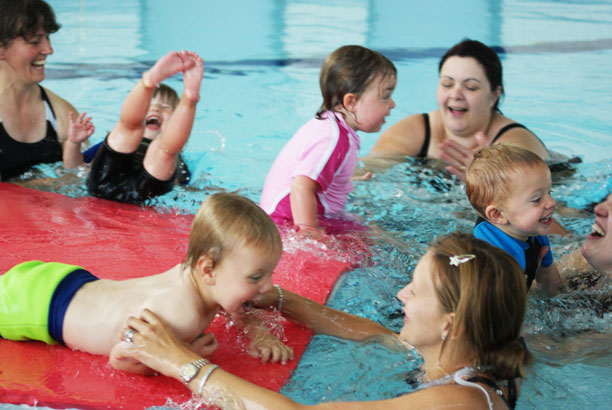 Baby and pre-school swimming classes