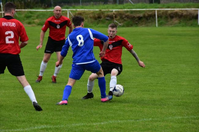 Llandudno Amateurs picked up their first away win of the season