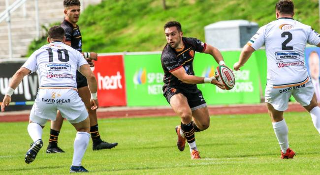 Billy McBryde in action for RGC (Photo by Tony Bale)