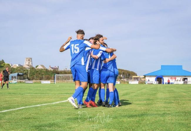 Holyhead Hotspur moved five clear with victory at Glan Conwy