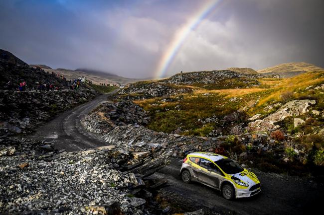 More than 90 miles of the Wales Rally GB 'Super Saturday' circuit is set to commence. Picture: Wales GB Rally