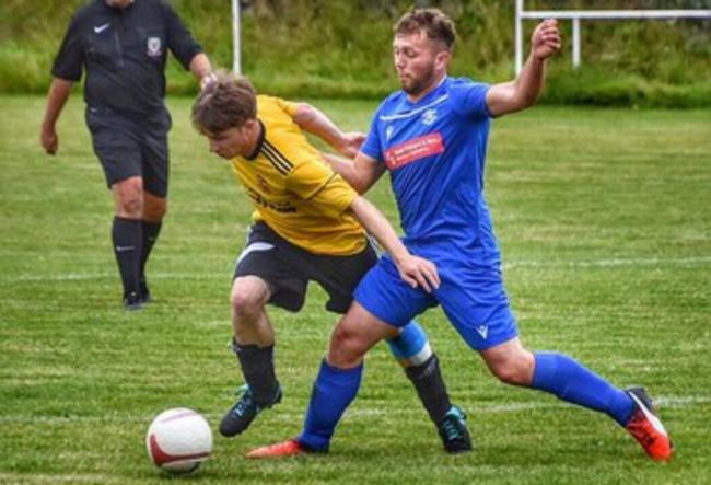 Amlwch Town were beaten at home by Llandudno Amateurs (Photo from Amlwch Town)