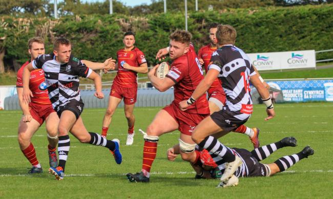 RGC picked up a bonus point win at Llanelli (Photo by Tony Bale)