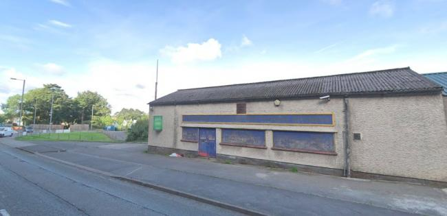 Gwynedd Council has received a preliminary application to convert The Pine Mine on Holyhead Road, which stands near Bangor City FC\'s Nantporth stadium. Screengrab from Google Streetview.