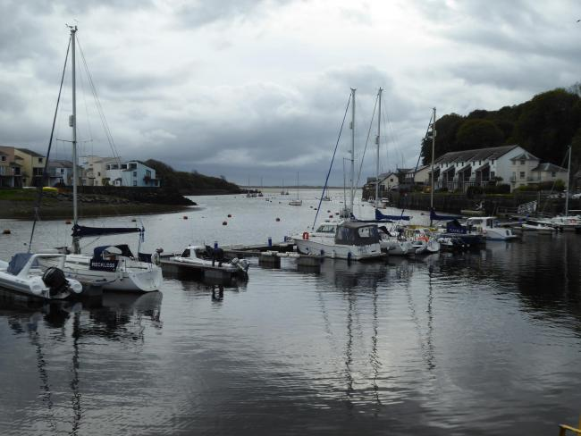 A DAY trip has created our picture of the week in this edition.This shot has been sent in by Helen Evans, from Ruthin, and shows a cloudy Porthmadog harbour.If you would like to supply an image to be included as the picture of the week, send an e-mail to