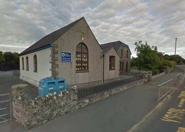 "Ysgol Gynradd Llanfachraeth closed its doors for the last time in 2016 to make way for the new Ysgol Rhyd y Llan ""super school\"" in nearby Llanfaethlu. Screengrab from Google Streetview."
