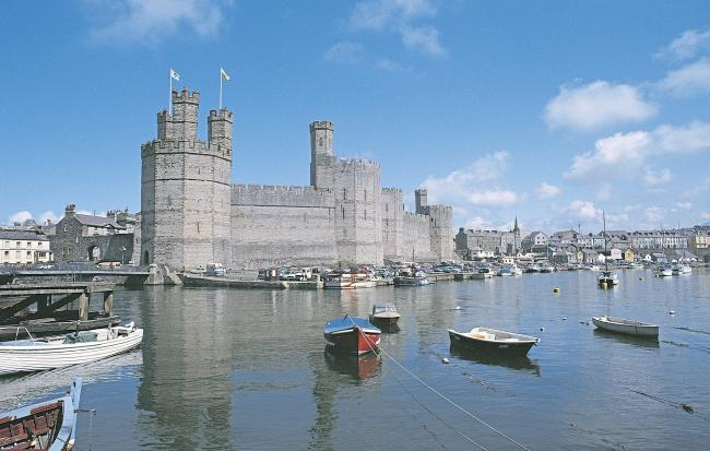 General view from the westCaernarfon Castle 2(45)