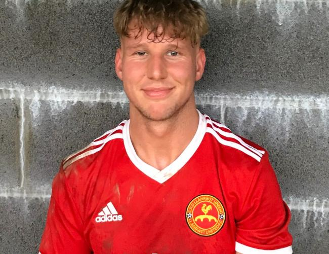 Callum Parry has been in sensational form for Llanrwst United