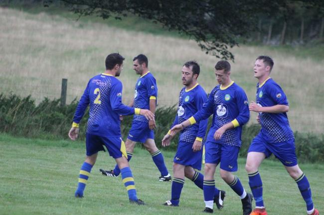 Pentraeth Reserves are into the next round. PICTURE: Darren Jones