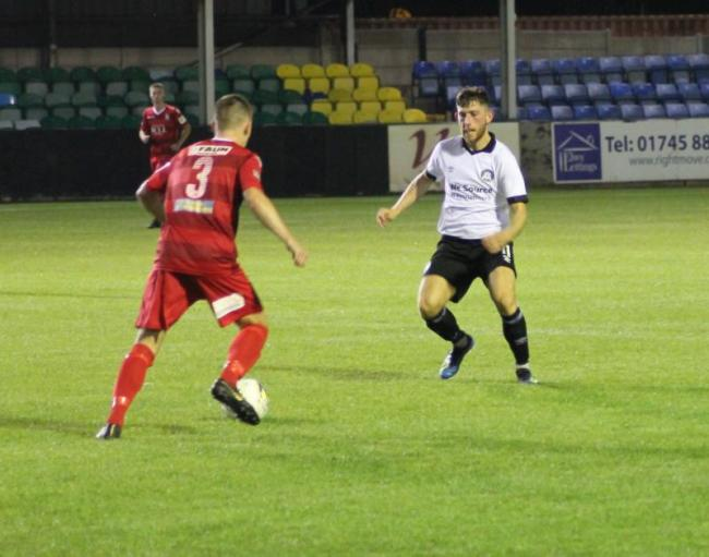 Llangefni Town held Rhyl to a goalless draw at Cae Bob Parry