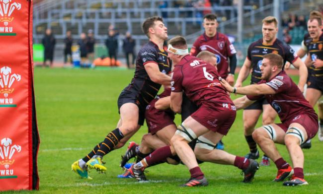 Dion Jones set up two tries for RGC (Photo by Tony Bale)