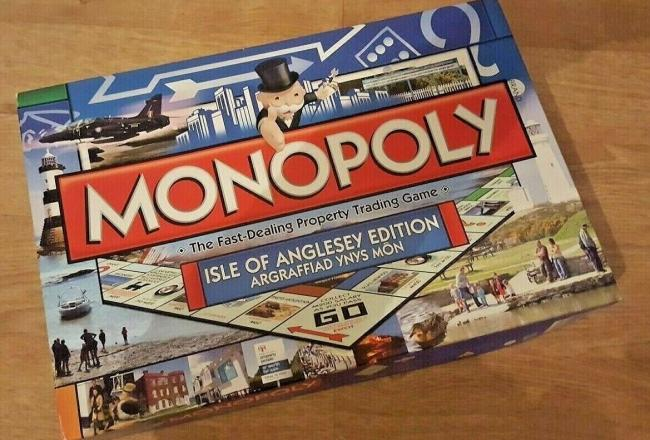 Isle of Anglesey Monopoly Rare Collectable Board Game. Picture: Ebay / bingowhistles