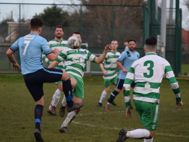 Kinmel Bay were beaten at home by the league leaders.