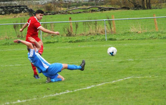 Llanrwst United scored four but lost to Holyhead Hotspur