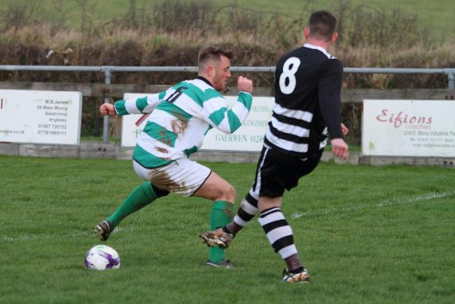 Gwalchmai suffered a blow to their title hopes at Llandudno Junction