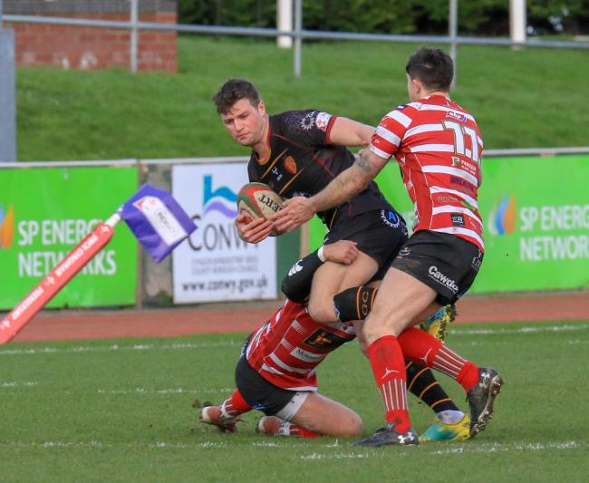 Dion Jones in action for RGC (Photo by Tony Bale)