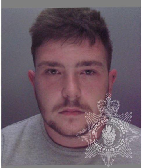 John Lee Milburn - jailed for 32 months for hammer attack.   Picture: North Wales Police