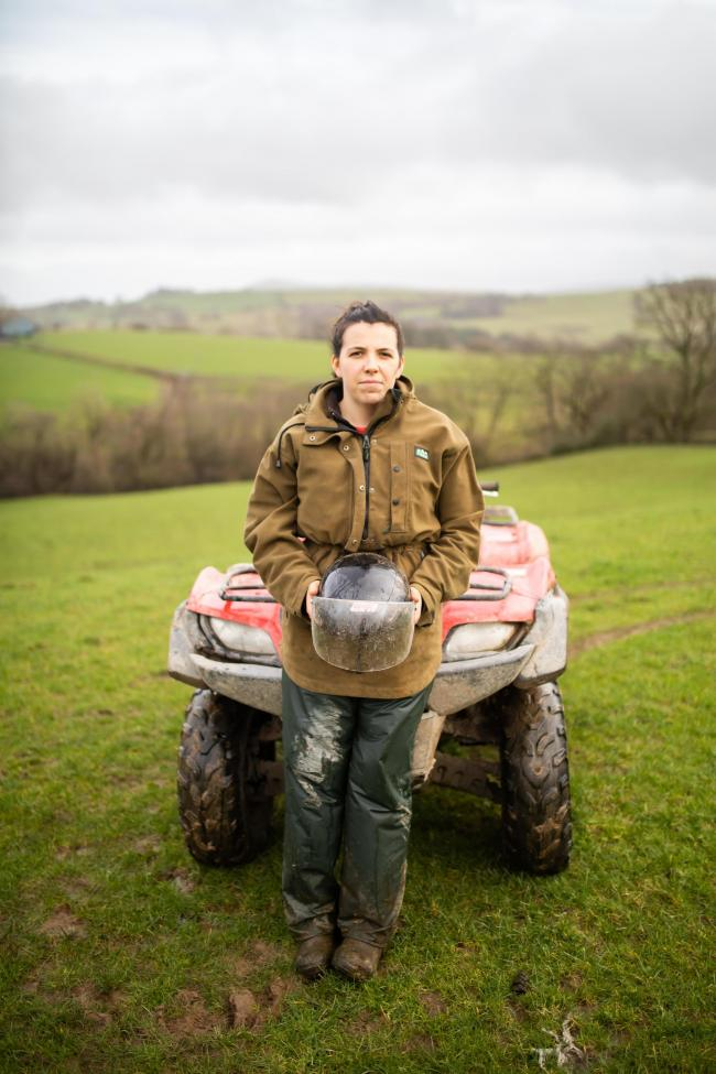 Beca Glyn had a serious accident on a quad bike in March 2018 in which she sustained a fractured skull, neck injuries and major bruising.