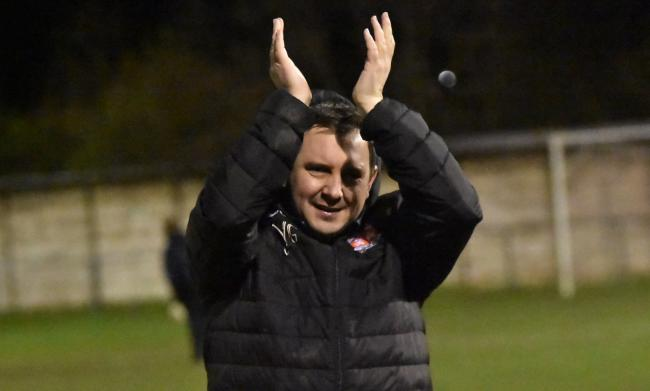 Flint Town United manager Neil Gibson