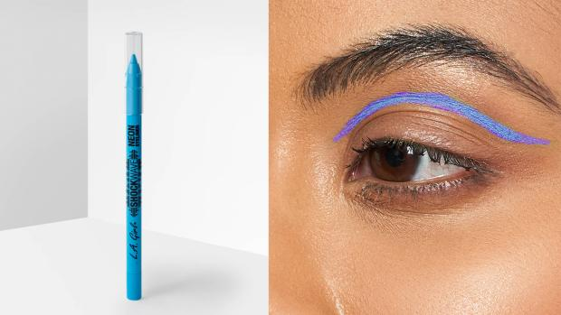 North Wales Chronicle: Add some flair to your eye look with the L.A. Girl Shockwave Neon Liner. Credit: L.A. Girl