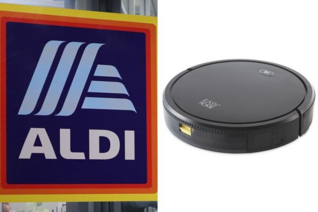 Aldi have started selling a high-tech robot cleaner - and it comes with a hefty price tag. Pictures: Newsquest/Aldi