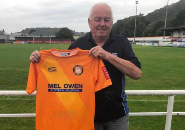 Mel Owen Electrical will continue to sponsor Conwy Borough's kit