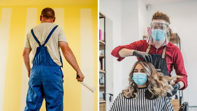 Tradespeople and beauticians are permitted to enter your home once local lockdown in in force - providing precautions are taken