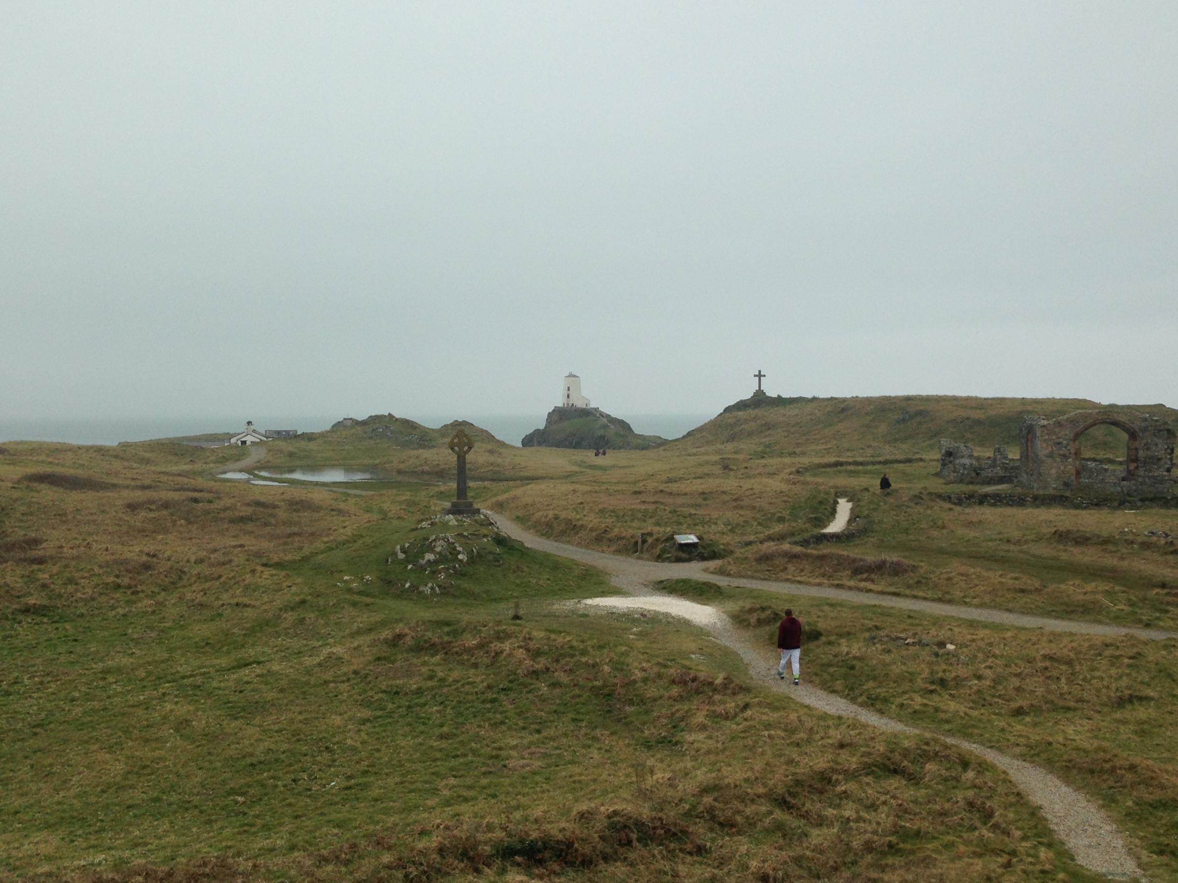 Ynys Llanddwyn, Anglesey. Taken by reporter, free to use by all LDRS partners.