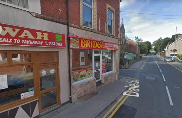 North Wales Chronicle: The Bridge kebab house. Picture: Google Maps