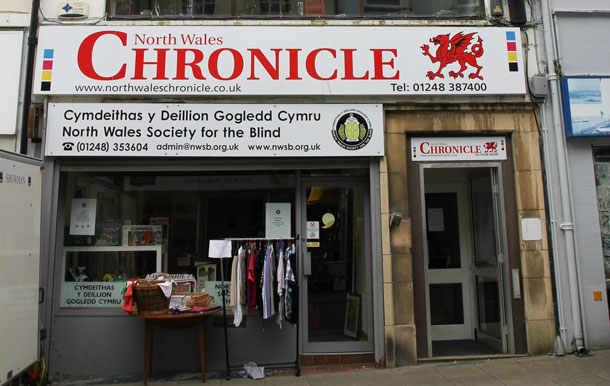North Wales Chronicle: Chronicle Store front
