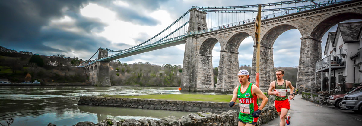 2017 Anglesey Half Marathon runners. PICTURE: Always Aim High Events