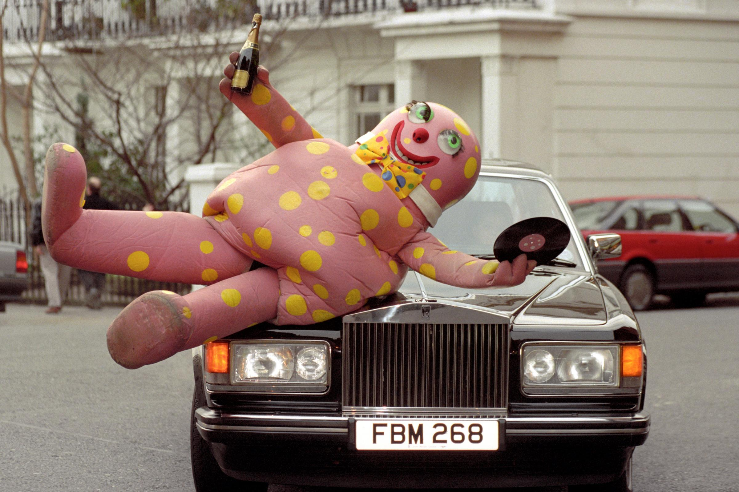 Mr Blobby, the character who shot to fame on Noel Edmonds' House Party (Fiona Hanson/PA)