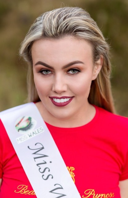 Clauida Grindlay of Cemaes Bay, Anglesey, will be competing in the Miss Wales finals in April. PICTURE: Facebook.