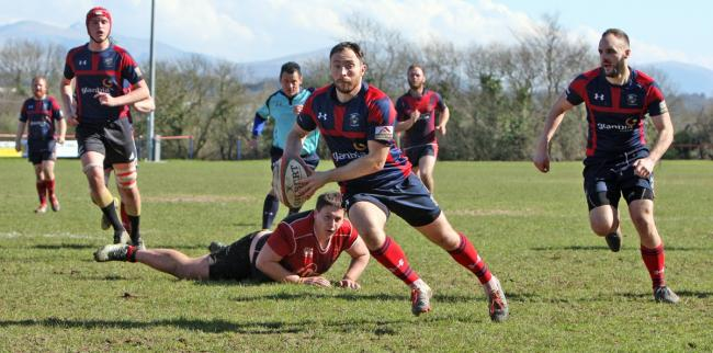 Bethesda and Llangefni were involved in a thrilling Division One North clash