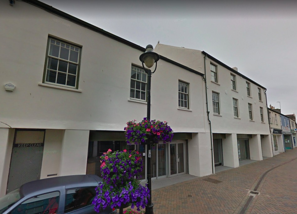The former Woolsworth site in Holyhead could be turned into a hotel
