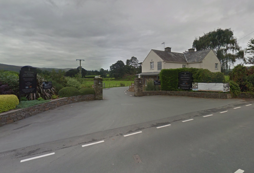Plas Talgarth Country Club near Pennal. Picture: Google Streetview