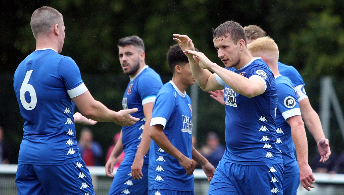 Bangor City made it two-from-two at Ruthin Town