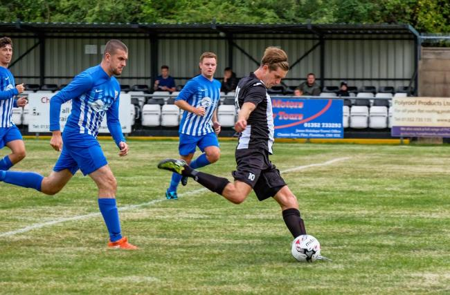 Flint Town United's Mark Cadwallader leads the Huws Gray Alliance goalscoring charts