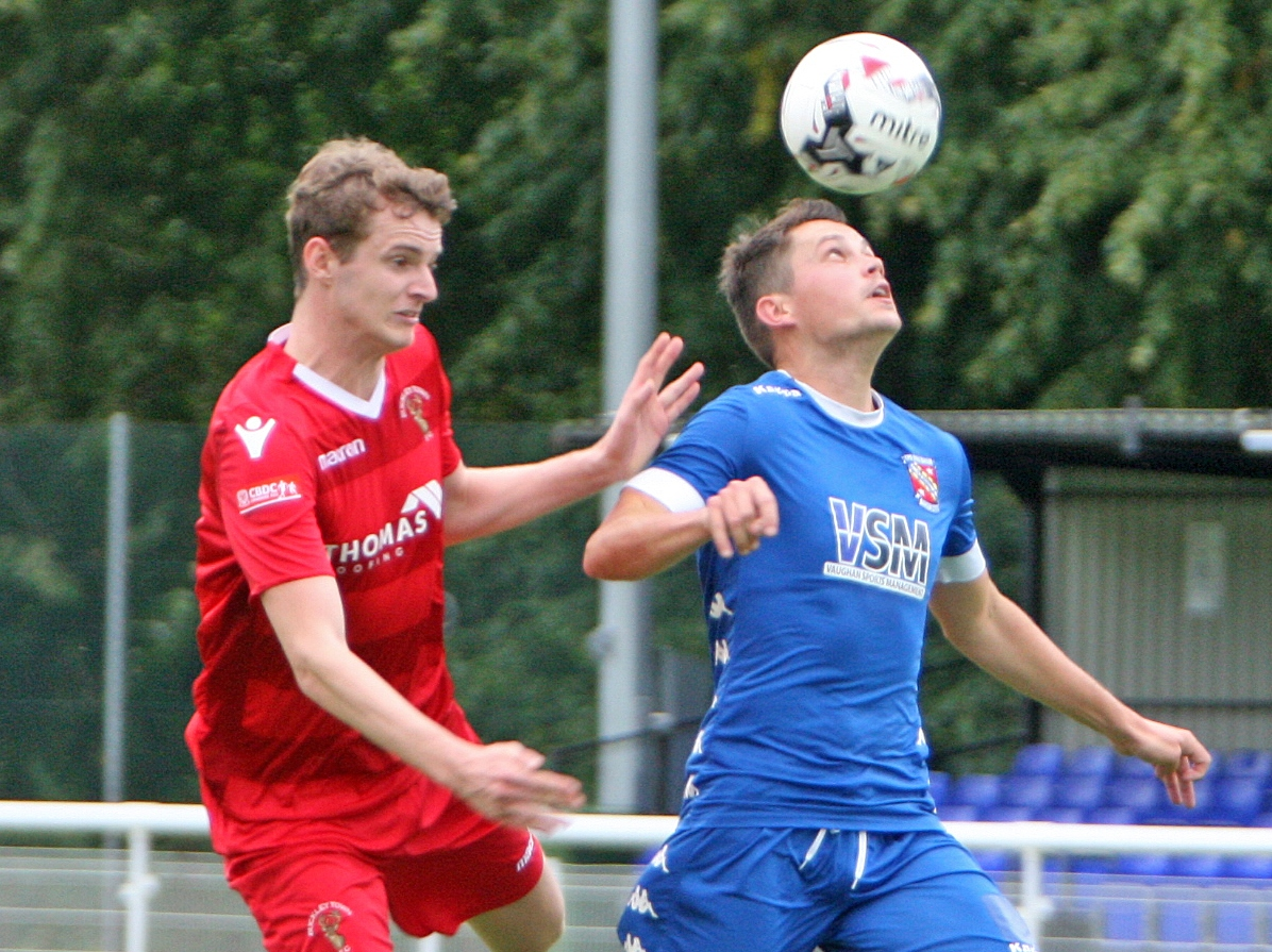 Bangor City ended Conwy Borough's recent fine run of results